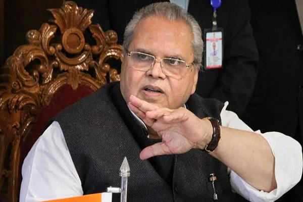 jammu and kashmir governor satyapal malik called emergency meeting
