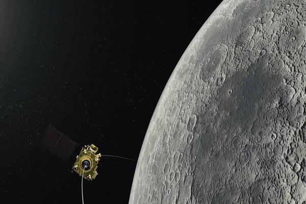 chandrayaan 2 will enter the moon s orbit today