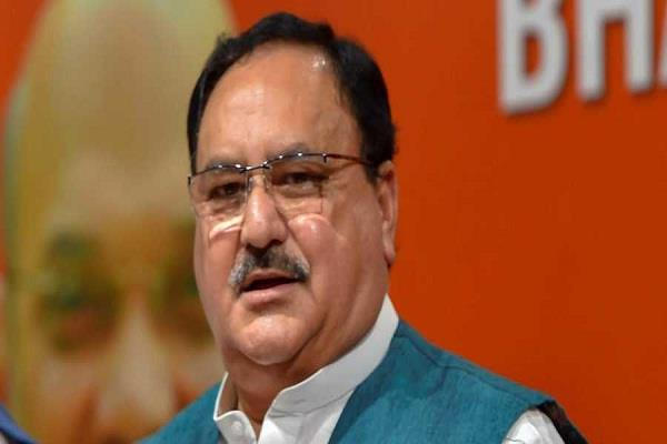 bjp executive president jp nadda on hyderabad tour