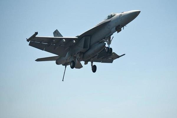 a us navy fighter plane crashed in california