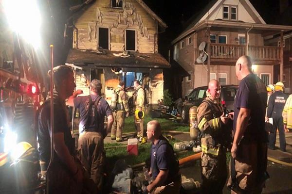 5 children died in a fire at a day care center in pennsylvania