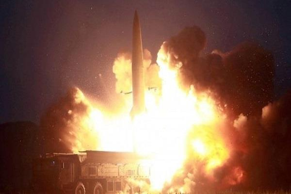 north korea fired unknown missile into japan s sea