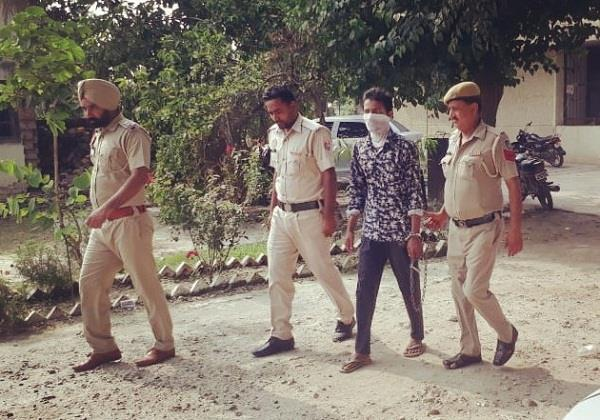 police arrest suspected person of pakistani terrorist camp