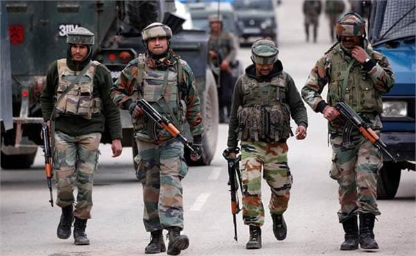 a large number of terrorists may enter punjab from jammu and kashmir