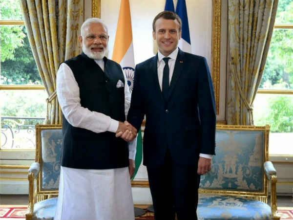 important bilateral meeting between modi and macron