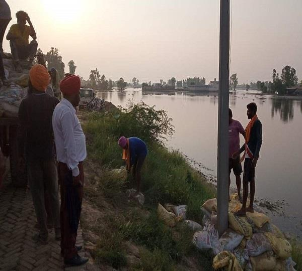 60 thousand acres of crop destroyed due to flood