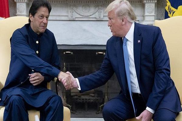 kashmir pakistan donald trump imran khan
