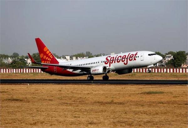 spice jet flight