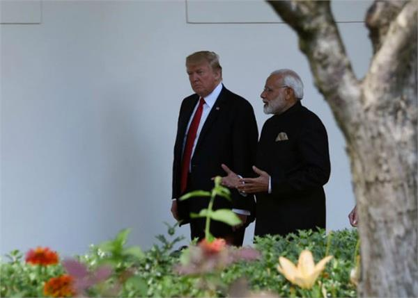 trump again offered to mediate on kashmir