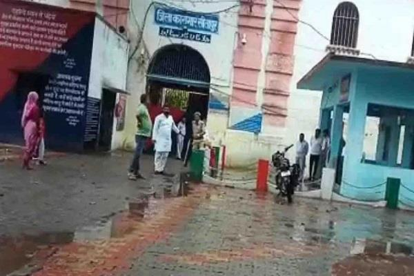 curuption video of sitapur jail workers taking bribe goes viral
