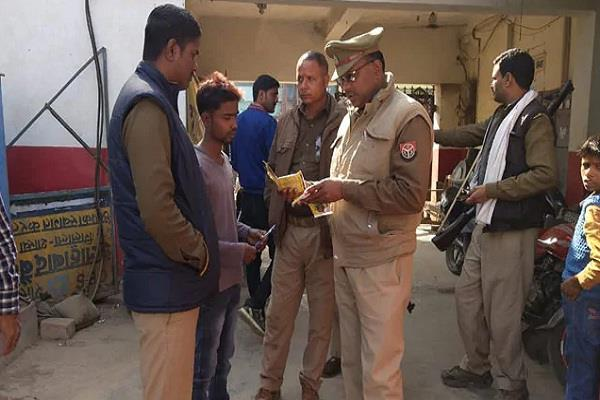 amethi police solve retired army captain murder case