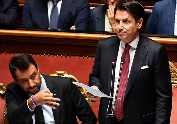 italy government crisis pm conte quits amid coalition row