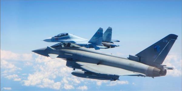 britain intercept 2 russian planes over baltic sea
