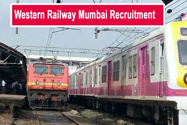 western railway mumbai recruitment for 21 posts