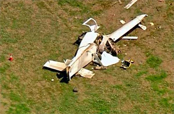 2 killed in small plane crash in us california