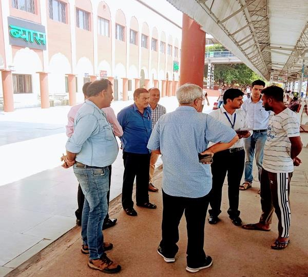 beas station survey completed feedback from 250 passengers