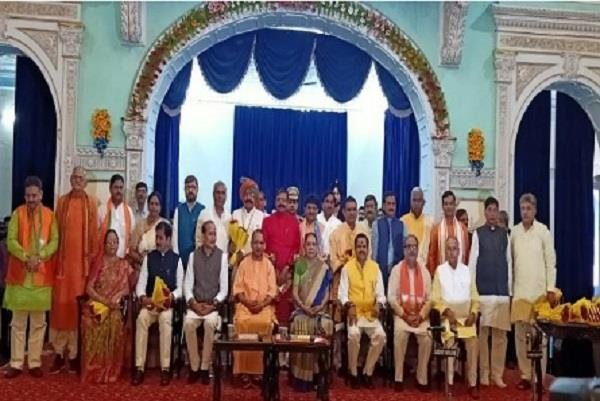 after the yogi cabinet expansion the department of ministers is divided
