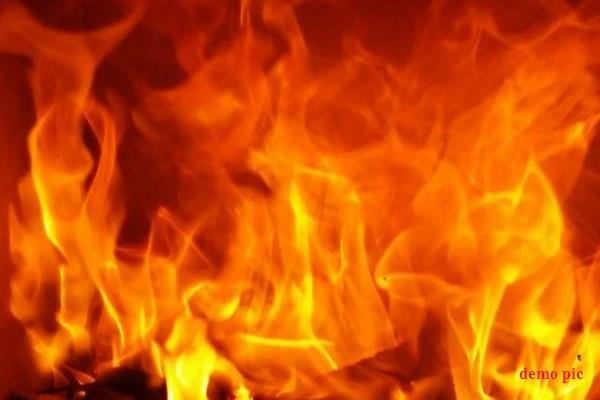 textile factory fire