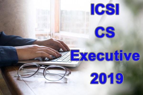 icsi result 2019 cs professional executive result declared