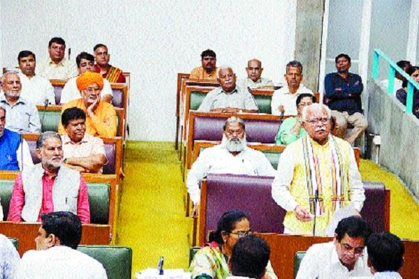 chief minister responded to the opposition in an aggressive manner