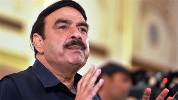 pak threaten to india railway minister sheikh rashid ahmed