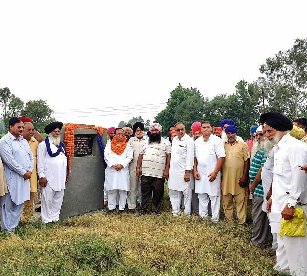 mp santokh chaudhary founded open air theater and road construction