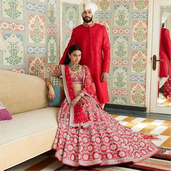 Fashion: अनिता डोंगरे की 'जयपुर लव' क्लैक्शन, वेडिंग कपल्स के लिए खास (See Pics)