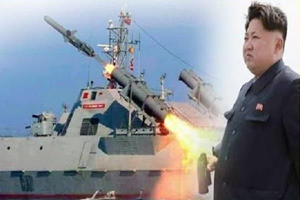north korea surrounded by missile tests