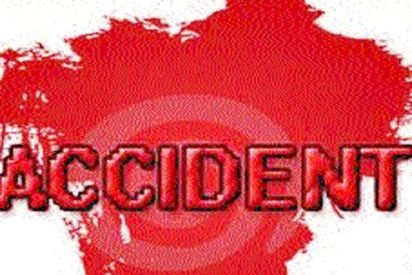 youth dies in truck bike collision 2 injured