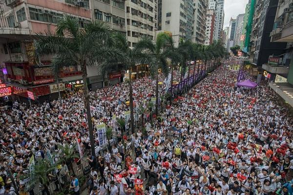 more than 100 flights canceled as hong kong