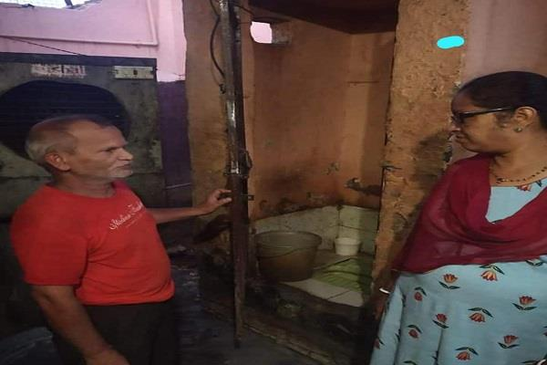 toilet water being used in sweet shop in gwalior