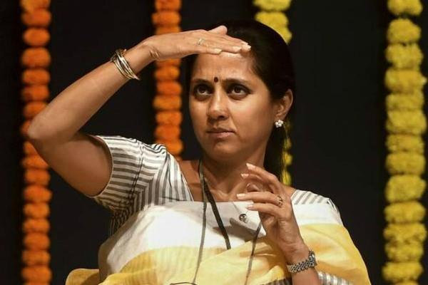 maharashtra police fined sharad pawar daughter
