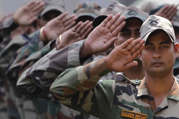 thousands linked with indian army by giving their blood