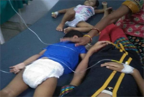 two children die 10 in critical condition in mathura s rajya shishu sadan