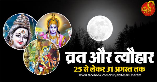 fast and festival from 25 to 31 august 2019