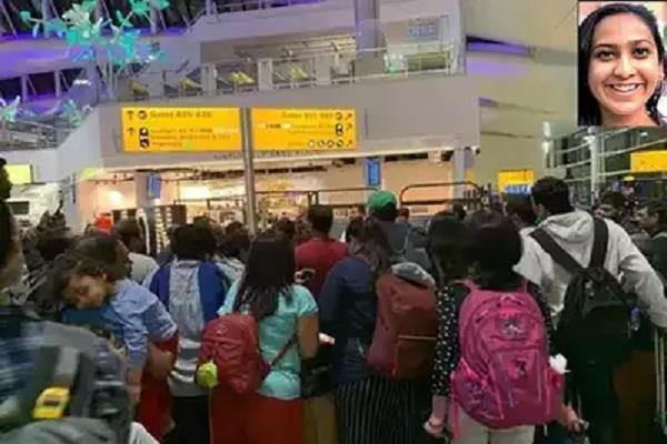 british airways took out mumbai girl from airport