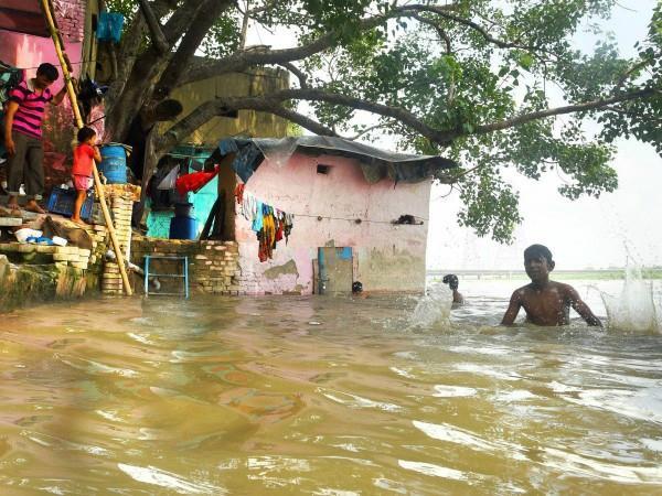 flood relief to delhi