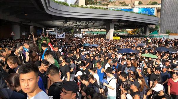 hong kong tense as weekend of protests begins with teachers