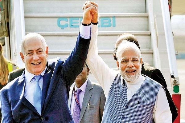 israeli message to india in friendship day