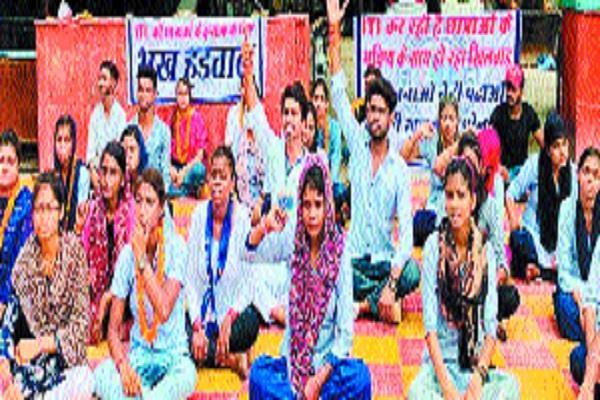 girl students end hunger strike