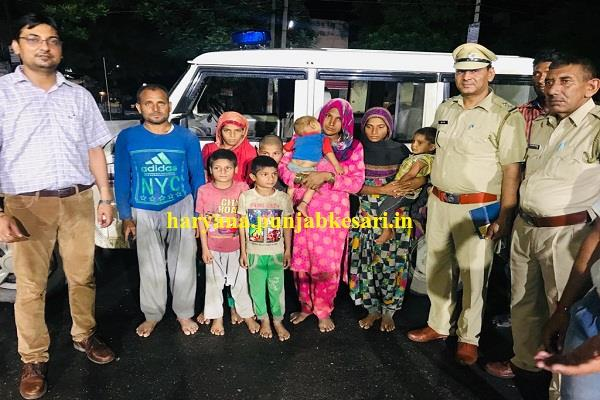 air force rescued 9 members of a family in haryana by airlfting