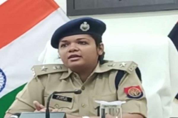 sp khyati garg takes charge of amethi