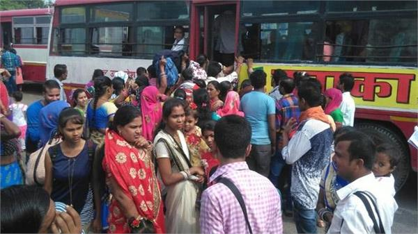 there will be no shortage of roadways buses on the day of rakshabandhan