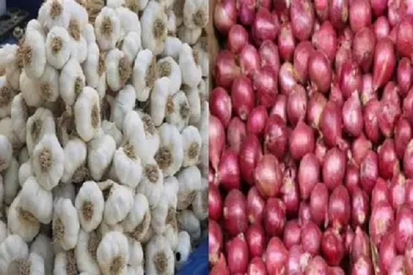 farmers due increase prices garlic onion man worried