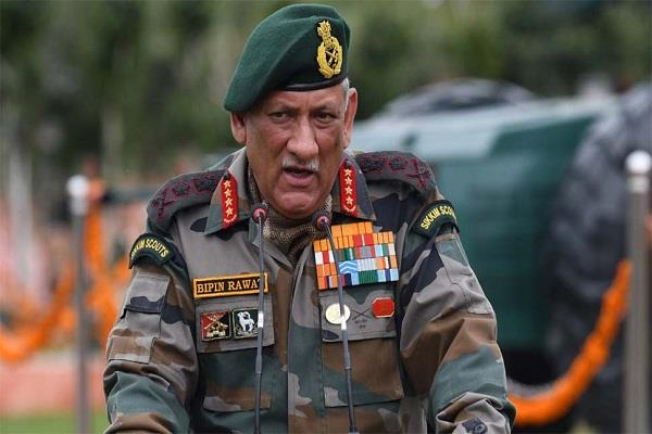 narendra modi chief of defense staff general bipin rawat