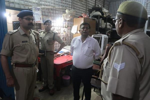 additional chief secretary conducted surprise inspection