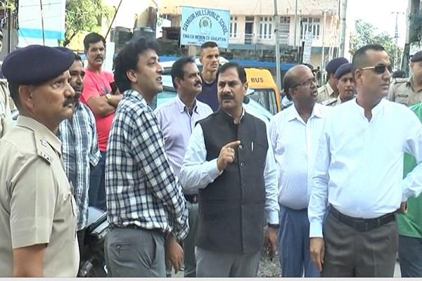 new traffic plan will be made in nahan