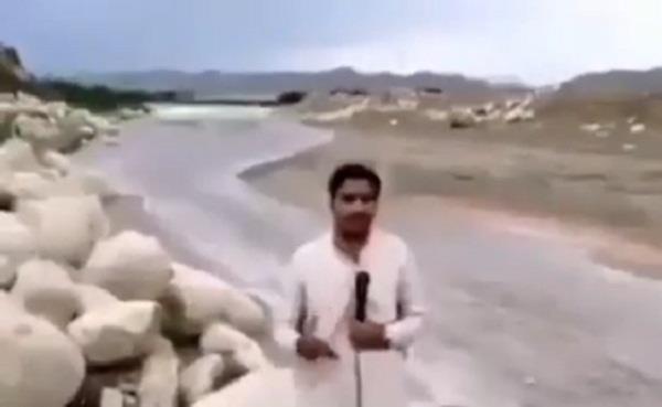 pakistani reporter barsaati n ala video gose viral