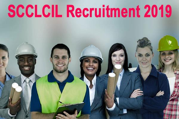 scclcil recruitment 2019 for junior engineer mts surveyor posts