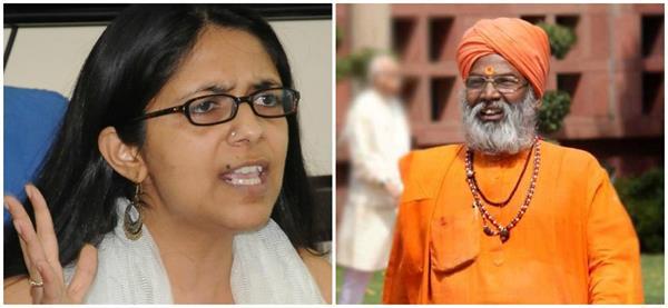 swati maliwal s big statement said sakshi maharaj in unnao rape case